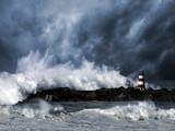 Fototapeta fala - Atlantyku - Wybrzeże