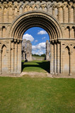 Castle Acre Priory - Norman Arch