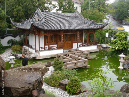 Beautiful Chinese Pagoda & Garden in Europe