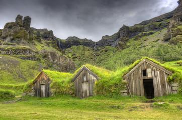 HDR d'une ferme islandaise