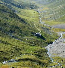 sentier alpin vers Guarda