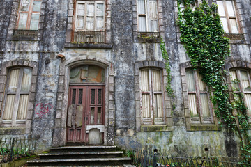 Old Haunted House in Sintra, Portugal