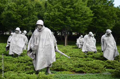 Washington DC, Korean War Memorial - 34923154