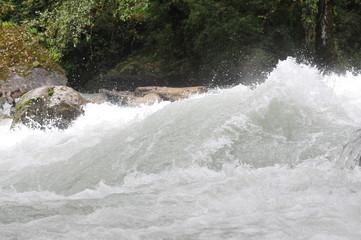 ブータンの渓流