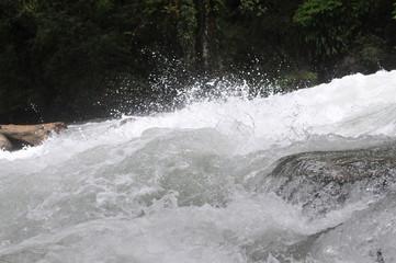 ヒマラヤ ブータンの急流
