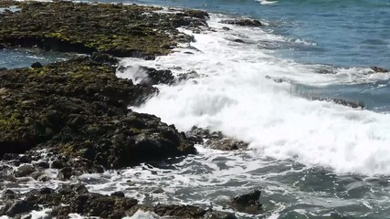Sea - Wave, Spray and Rocks