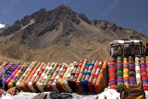 Peruvian blankets