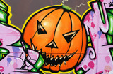 Grafiti de halloween.