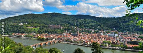 großes Panorama Heidelberg