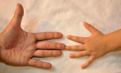 Händevergleich
