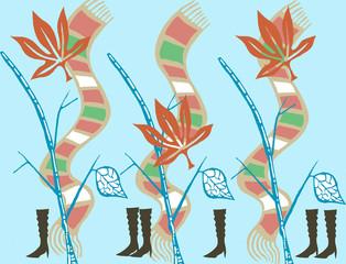 秋から冬へ楽しい足音