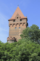 Kapitelturm und Ausguck an der Burg Tangermünde
