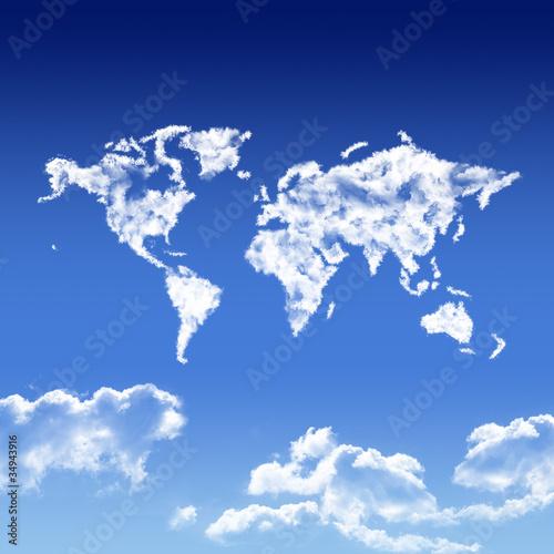 Leinwandbilder,blau,ökologie,kartographie,erdball