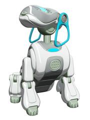 Robot Dog Sitting