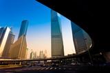 Fototapety shanghai office building