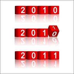 2010-2011 passing years