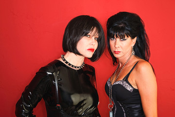 Two Dominatrix Women