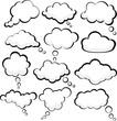 Speech clouds.