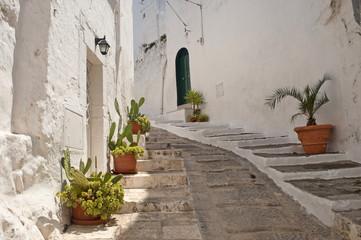 Ostuni (Brindisi, Puglia, Italy) - Old town