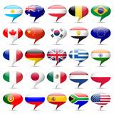 Flags icons that speak
