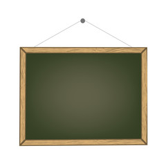 A chalk board in black colour