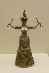 Famous Cretan figurine
