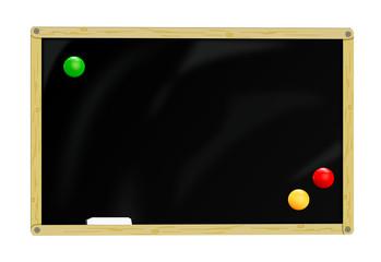 Tafel mit Magneten