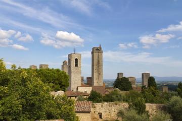Torri di San Gimignano, Toscana