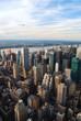 Manhattan sunset over Hudson River