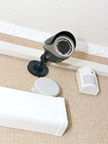 CCTV camera and sensor size on the wall poster
