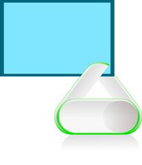 paper clip2 Green