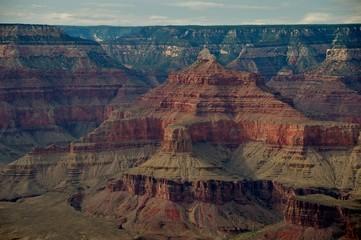 Veduta dettaglio sul Grand Canyon Suth Rim Arizona