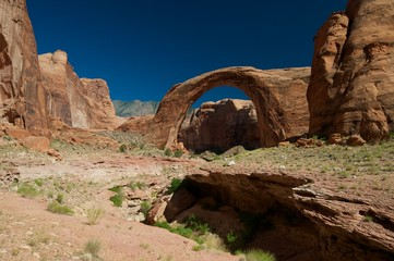 Rainbow Bridge Natural Monument Arizona panorama