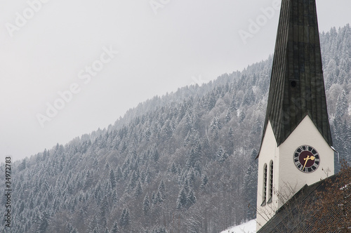 Winter in Balderschwang
