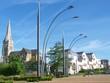 Couëron - Le bourg vu du quai