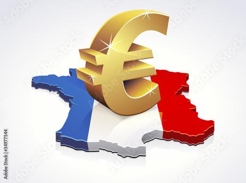 L'Euro en France (reflet)