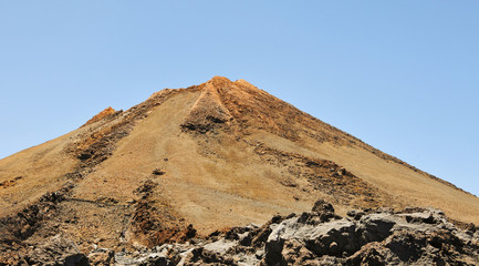 Mount Teide, in Teide National Park, Tenerife, Spain