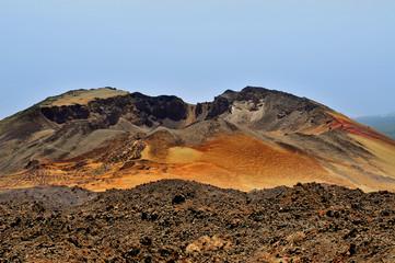 Pico Viejo, in Teide National Park, Tenerife, Spain