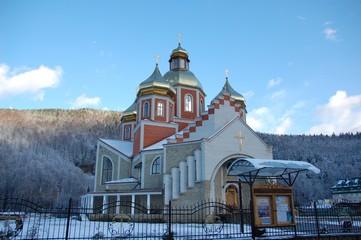 Eglise grecque-catholique dans les Carpates, Ukraine