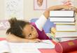 L'enfant et les devoirs d'école
