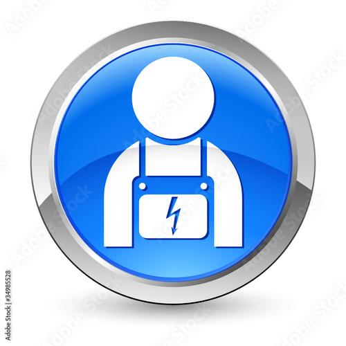 elektriker button stockfotos und lizenzfreie vektoren auf bild 34985528. Black Bedroom Furniture Sets. Home Design Ideas