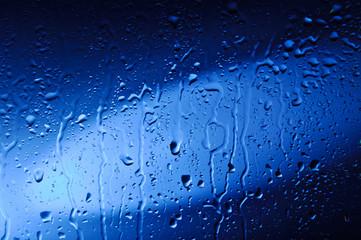 Wet Blue Glass