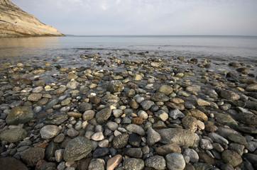 Corsica: spiaggia di ghiaia sul Capo Corso 2