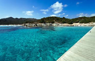 Corsica, Saint Florent le trasparenze della spiaggia del Loto 2
