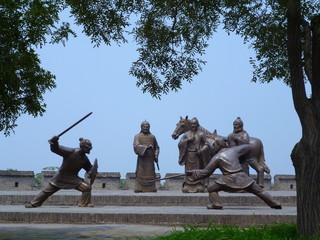 Guerrieri a Pingyao, Cina