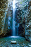 Fototapety Chantara Waterfalls in Trodos mountains, Cyprus
