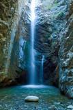 Chantara Wodospady w górach Trodos na Cyprze