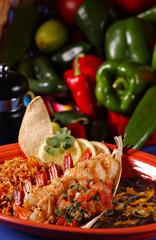 sauteed shrimp plate