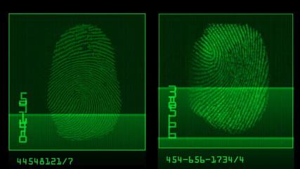 thumb print comparison