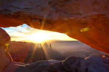 Sunrise at Mesa Arch, Utah, USA